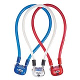 MASTER LOCK Rigid Cables [8213] - Blue - Gembok Kombinasi